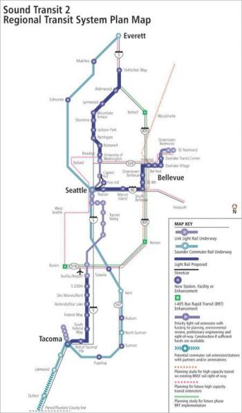 Sound Transit 2 Map
