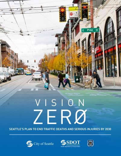 Introducing Vision Zero for Seattle, courtesy of SDOT.