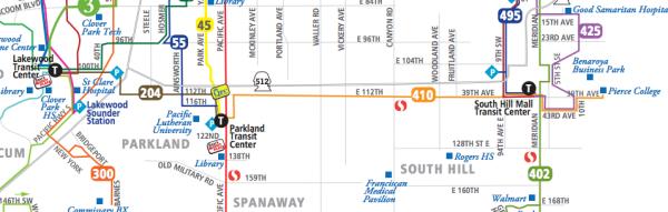 The 112th St E corridor.