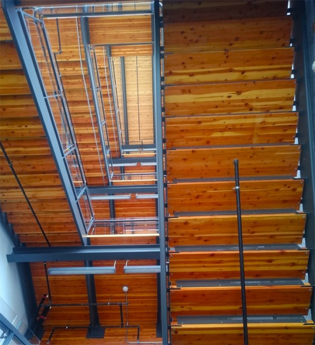 5 Bullitt Center staircase
