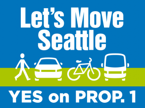 Let's Move Seattle campaign logo