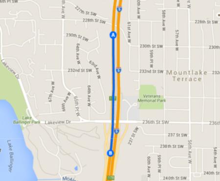 Mountlake Terrace Freeway Station ramps. (Google Maps)