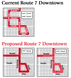 Everett Route 7 revision.