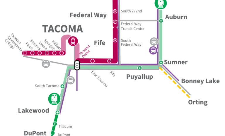 ST3 Draft Plan Serves Tacoma With Light Rail In 2033, 2041