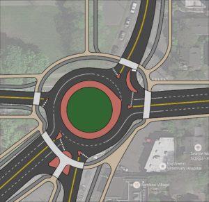 Roundabout concept. (Izaac Post)
