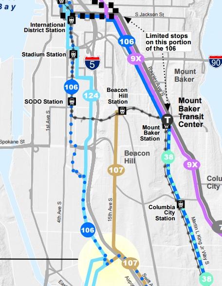 Georgetown Seattle Map.Service In Georgetown Suffers In Metro Proposal The Urbanist