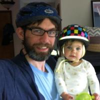 Tim Fliss is a father who bikes with his family in NE Seattle.