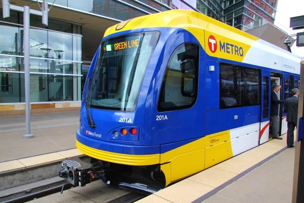 Siemens S70 LRV in Minneapolis/St Paul [Michael Hicks]