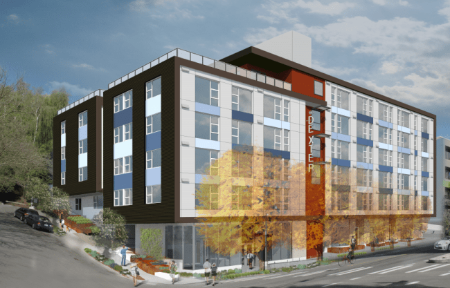 Rendering of the proposed 1511 Dexter Ave N. (City of Seattle)