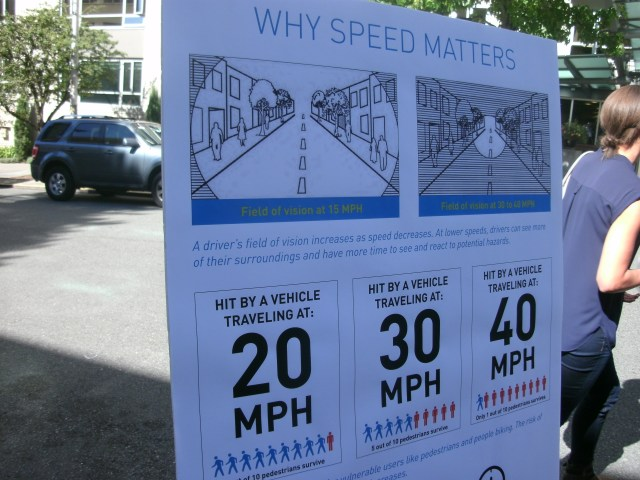 Why speed matters. (Photo by the author)