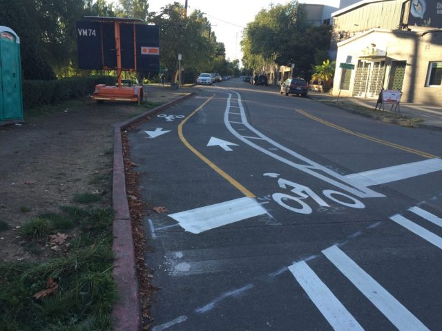 The connection to and from the Burke-Gilman Trail on N 34th St.