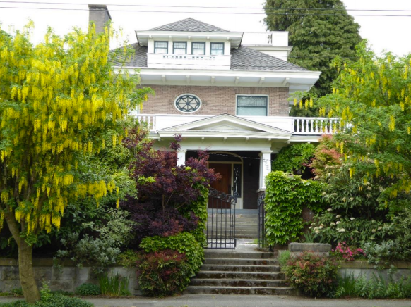 J.W. Bullock House today. (City of Seattle)