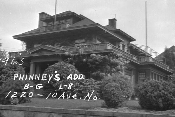 J.W. Bullock House in 1937. (City of Seattle)