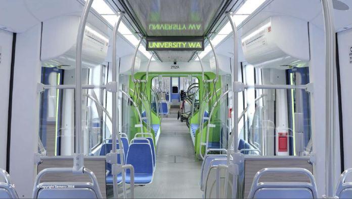 Sound Transit Type 2 LRV Preliminary Interior Design Concept (Siemens)