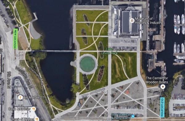 New Lake Union Park Pronto station (Pronto Cycle Share)