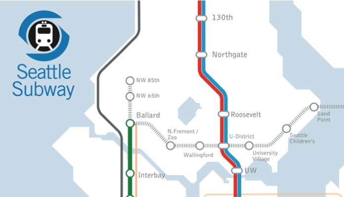 Sound Transit 3 Sets Seattle's Light Rail Up For Expansion ... on usc campus map, usc site map, sungei wang plaza map, westfield mall tukwila map,