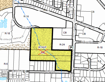 Zoning change proposed in Fairwood. (King County)