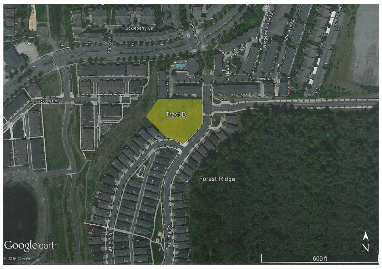 Proposed location of 25 affordable units on city-owned land. (City of Issaquah)