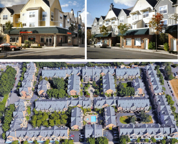 Lionsgate Townhouses in Redmond.