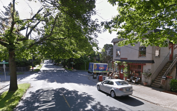 Looking east on N 40th St. (Google Maps)