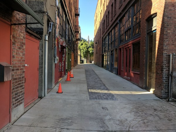 What the rehabilitated Canton Alley looks like. (Charles Bond)