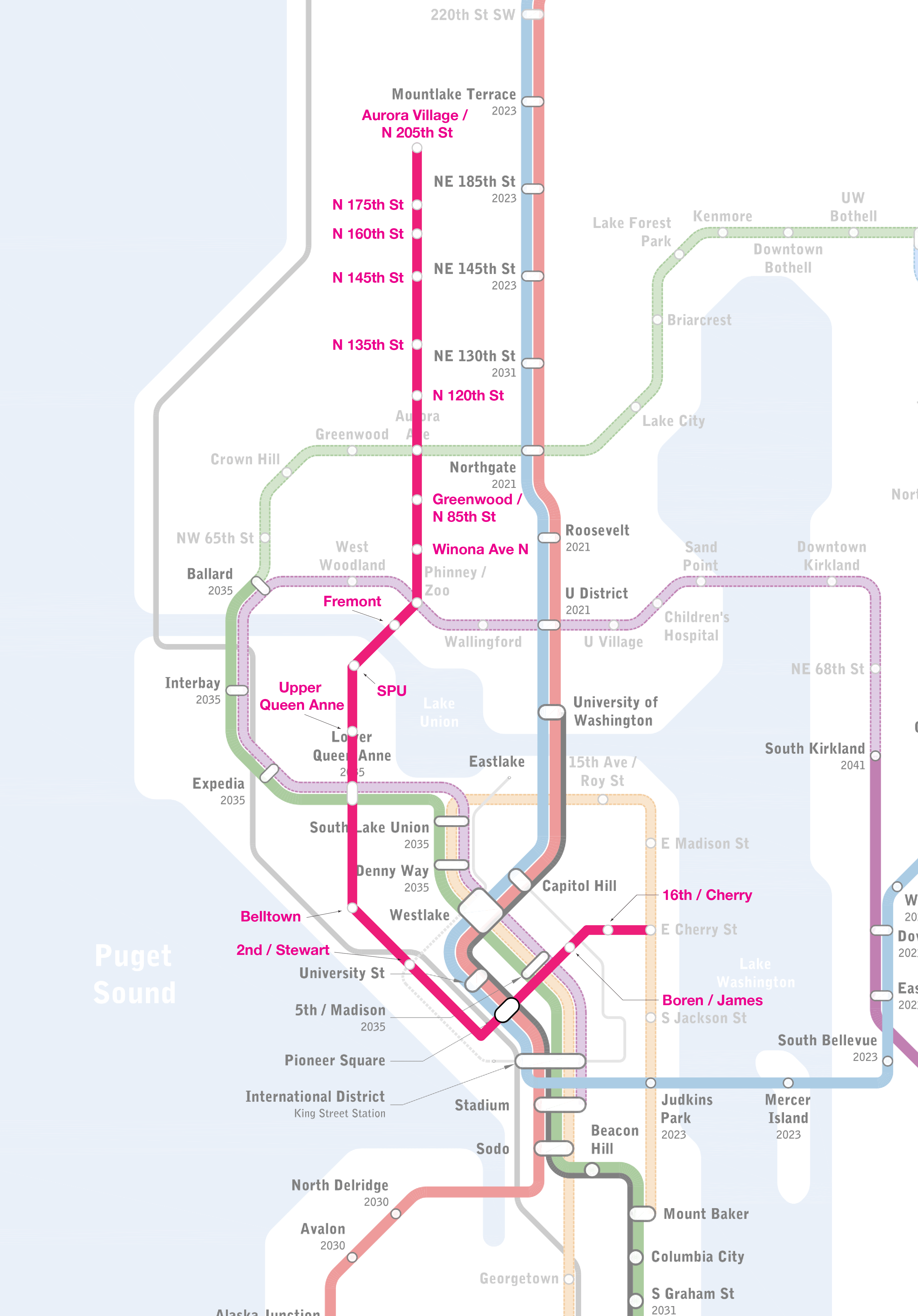 Proposed 2nd Ave Subway Map.Building St4 The Case For Upgrading Rapidride E To Rail The Urbanist