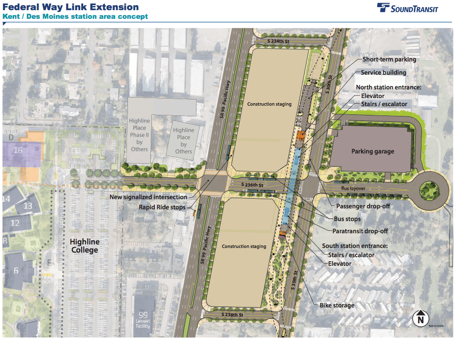Sound Transit Shares Design Concepts for Federal Way Link The Urbanist