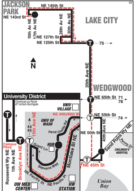 The Case for a Ballard to UW Waterfront Rapid Bus Line | The