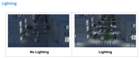 Lighting options. (King County)