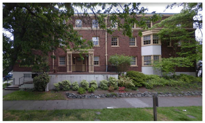 Recent photo of the former Francis Skinner Edris Nurses Home. (City of Seattle)