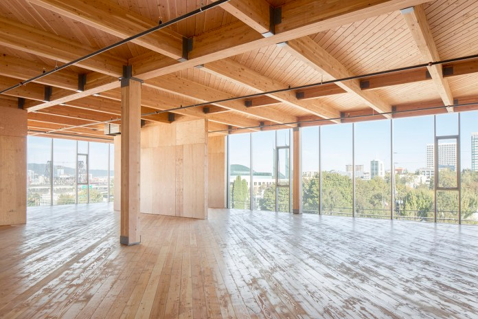 Cross-Laminated-Timber construction is a carbon-negative building practice. Seattle and ALUV have a rich history in lumber and would champion a local business and revision this district as a sustainable model to follow. (Google)