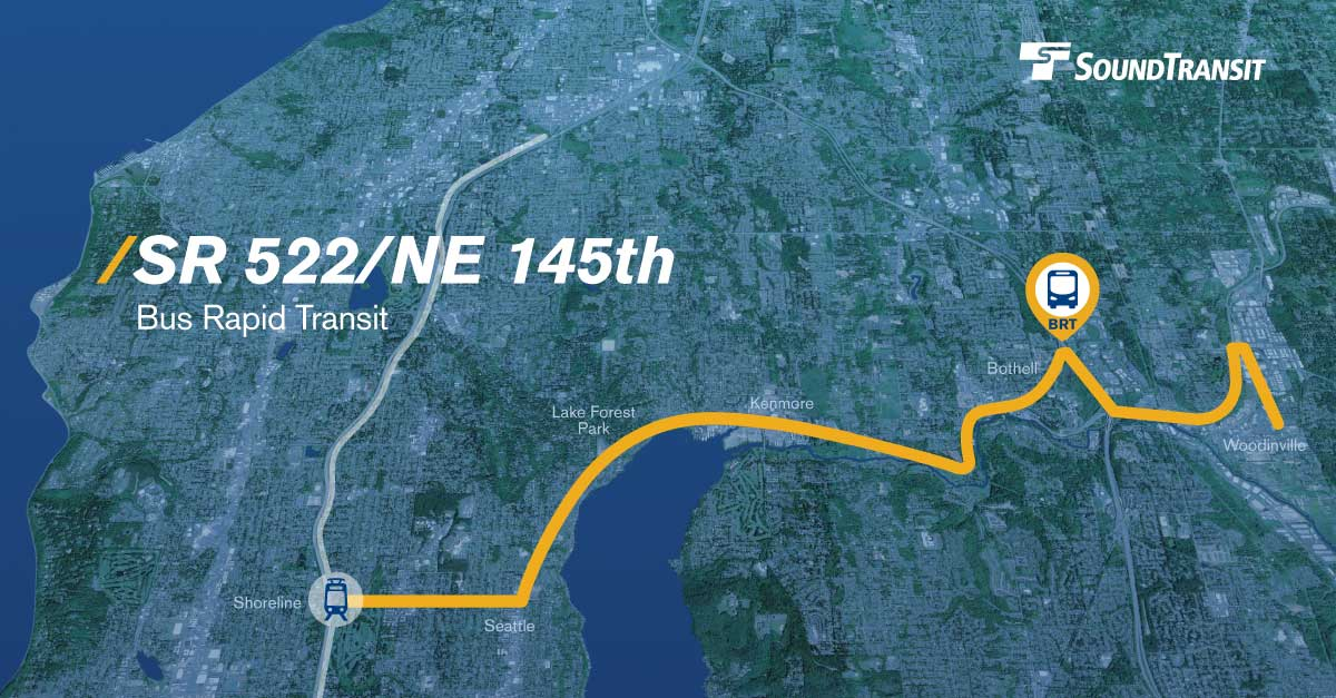 Sound Transit Refines SR-522 BRT, Cutting Woodinville
