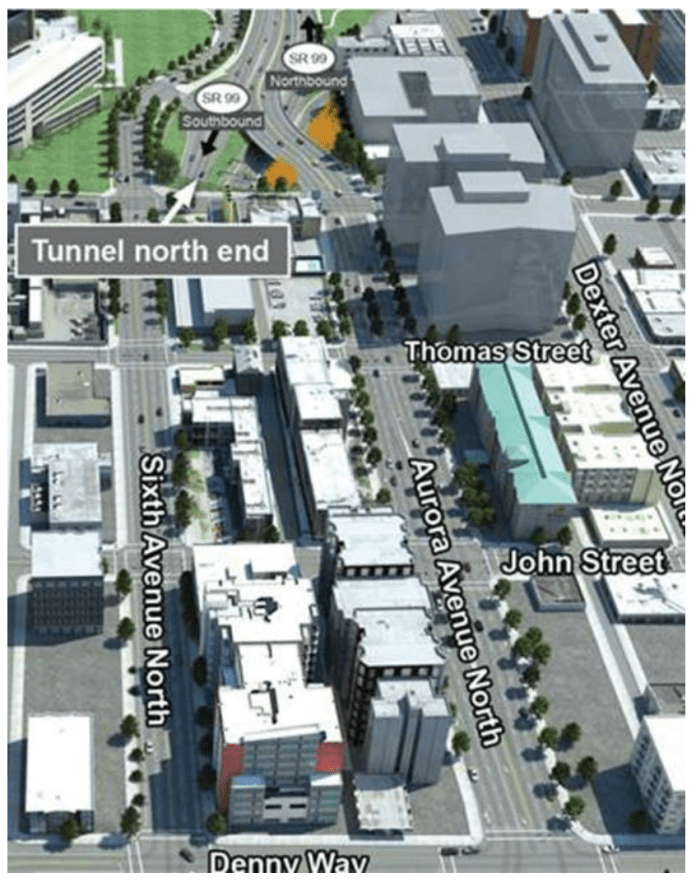 The boulevard plan for Aurora. (WSDOT)