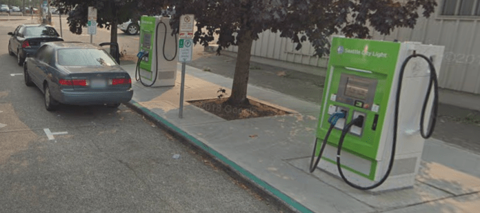 Beacon Hill Charging Station. (Google Maps)