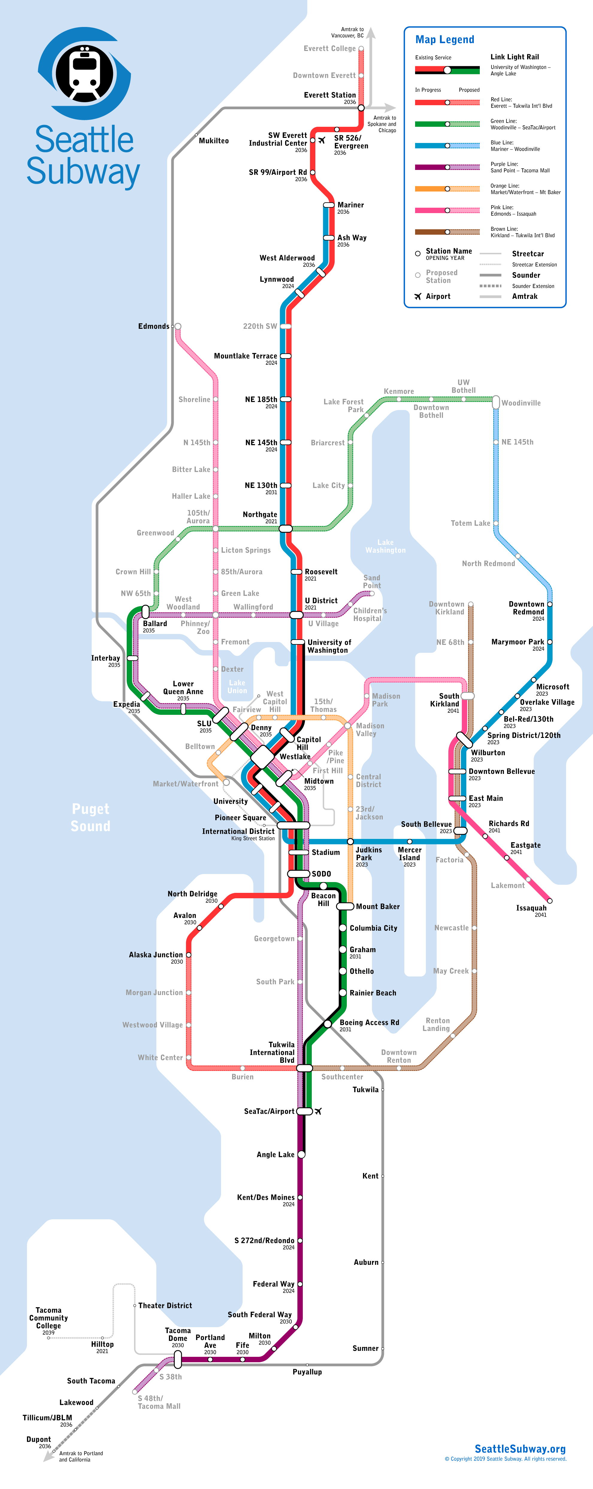 Latest Seattle Subway Vision Map Refines the Metro 8 Line ... on seatac map, seattle football stadium map, seattle attractions map, seattle time zone map, seattle landfill map, port of seattle map, seattle central map, seattle police map, seattle bar map, seattle area map, seattle airports lights rails, seattle runway map, seattle airspace map, downtown seattle map, seattle skytrain map, seattle cruise terminal map, seattle transportation system map, seattle aviation map, sea terminal map, seattle light rail map,