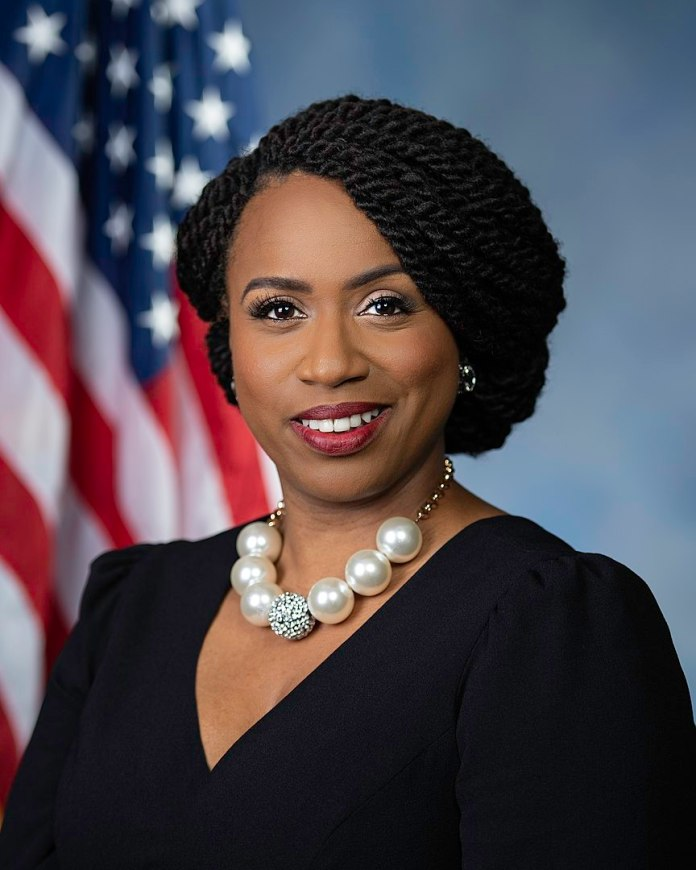 Ayanna Pressley was elected in 2018 to represent Massachusetts' 7th Congressional District. (Official photo)