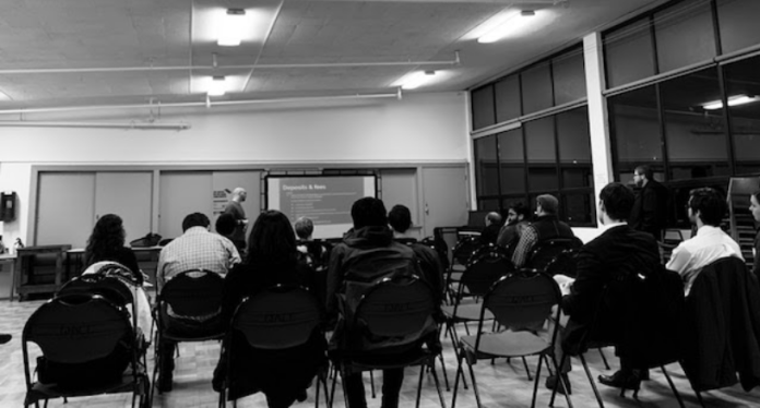 Attendees at a tenant bootcamp with Be:Seattle in Queen Anne on December 17. (Photo by author)