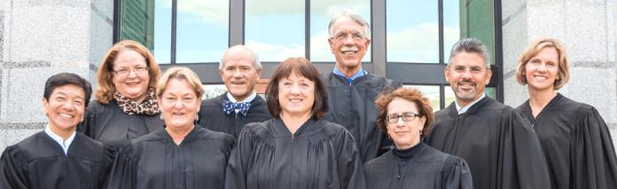 The nine members of the Washington State Supreme Court. (Washington State)