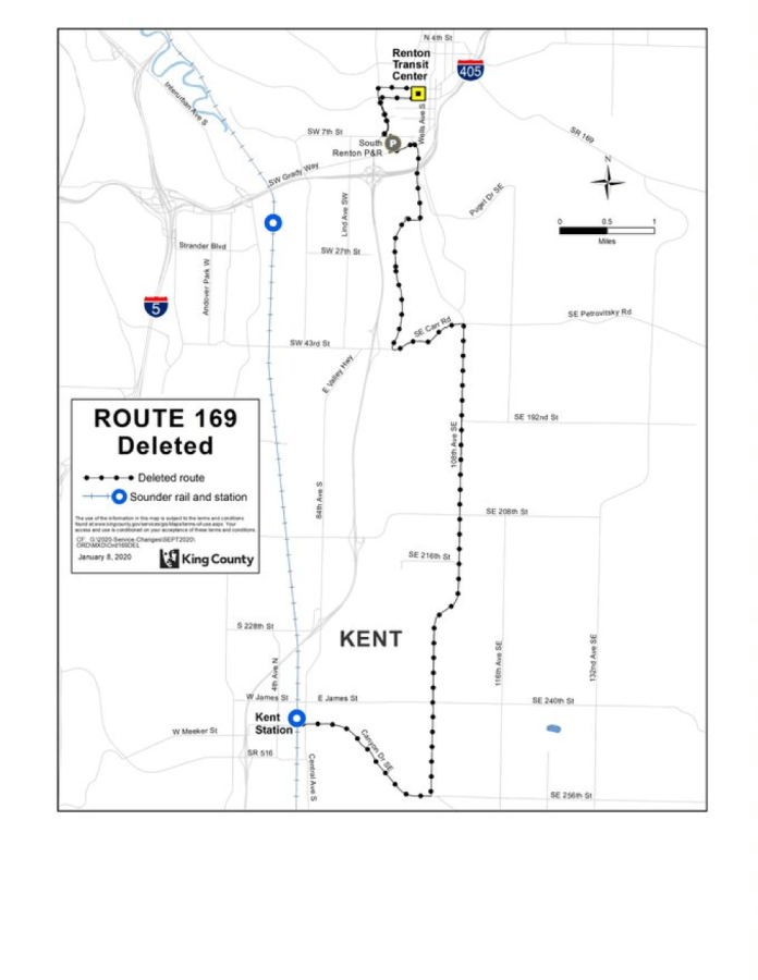 Deleted Route 169. (King County)
