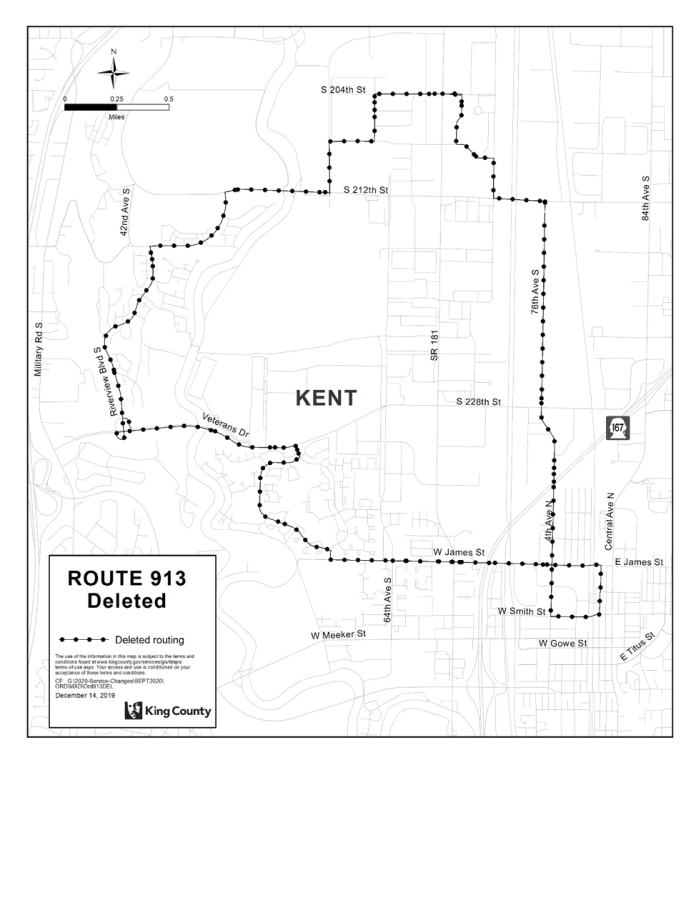 Deleted Route 913. (King County)