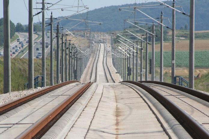 The Nurenberg-Ingolstad high speed railway. (Photo by S. Terfloth / Wikimedia Commons)
