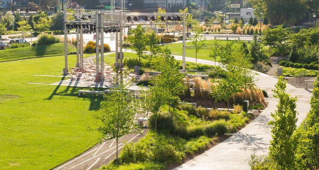 Redmond Central Connector. (Courtesy of Berger Partnership)