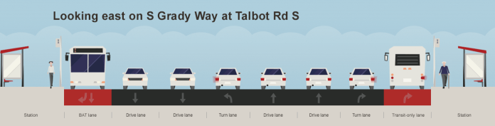 Planned right-of-way changes. (King County)