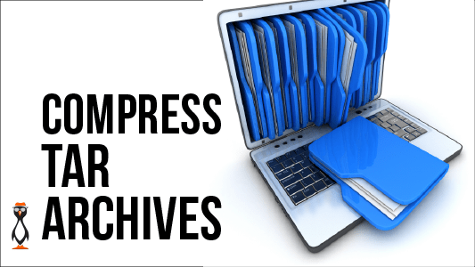 Compressing Tar Archives