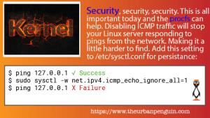 Block Network Pings