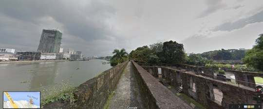Street View Fort Santiago