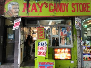 Ray's Candy Store Front