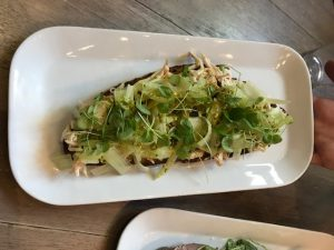 Tartinery - Chicken and Fennel Tartine - Foods of NY Tours