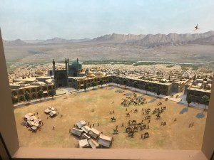 Museum Hack - Model of the city of Isfahan with a seldom-noticed magic carpet