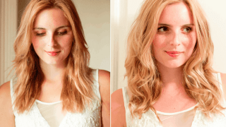 Easy Heatless Beach Waves Tutorial